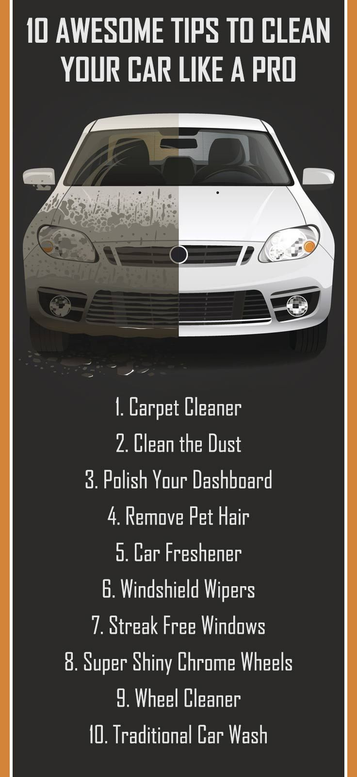 10 Awesome Tips to Clean Your Car Like a Pro Clean your