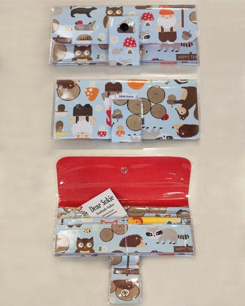 Paper Vinyl Wallet Sew Vinyl Paper Diy Wallet Wallet