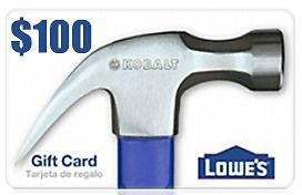 Lowes $100 Gift Card for just $85 (Email Delivery) | Stuff to Buy ...