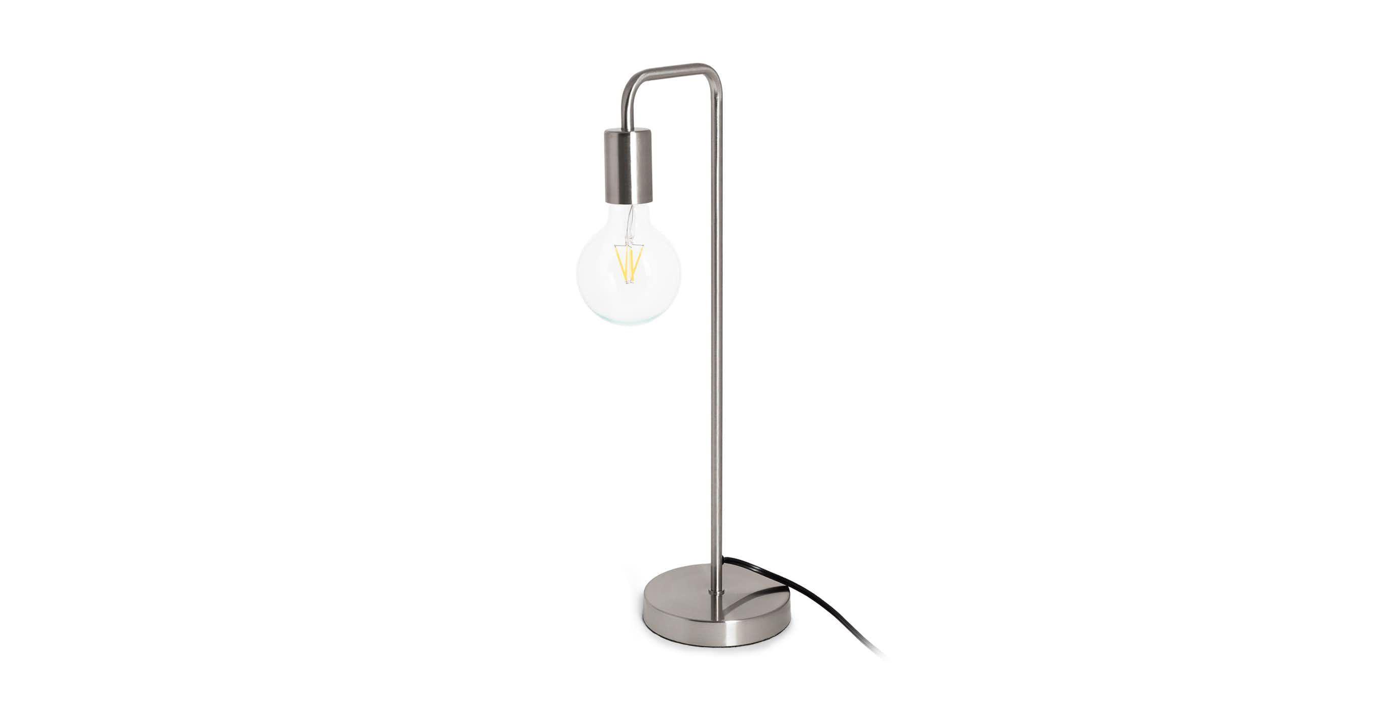 Beacon Nickel Table Lamp Nickel Table Lamps Copper Floor Lamp Lamp