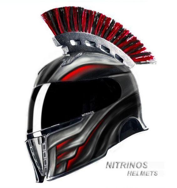 Spartan Motorcycle Helmets Bikes Custom Motorcycle