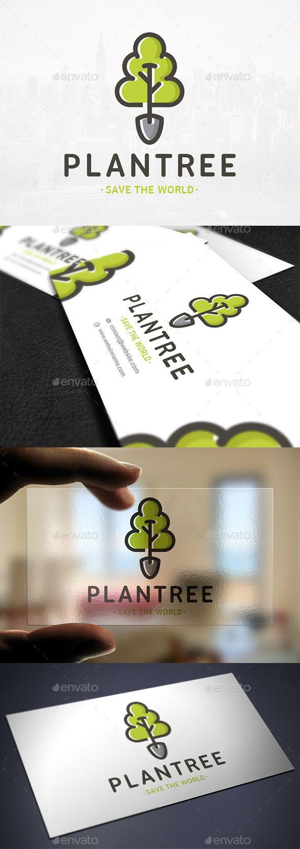 Plant a Tree Logo Template Tree logos, Natural logo