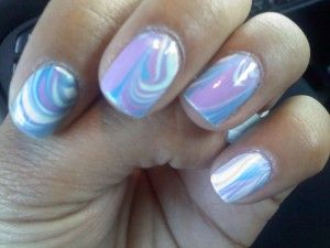 DIY Water Marbling... I have to try this!