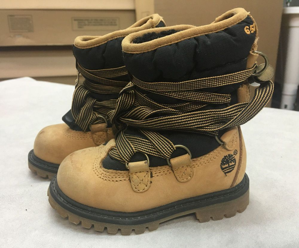 childrens size 5 timberland boots