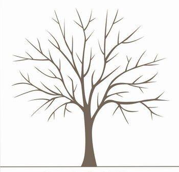 Pingl par caroline larose sur arbre empreinte pinterest arbre a empreinte dessin arbre - Arbre sans feuille dessin ...