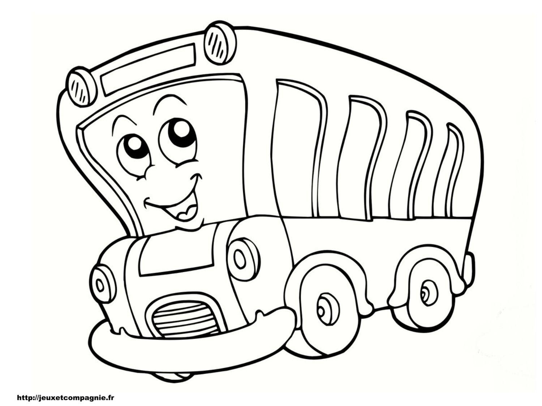 coloriage-bus19.jpg (19500×191925)  Lustige malvorlagen, Kinder