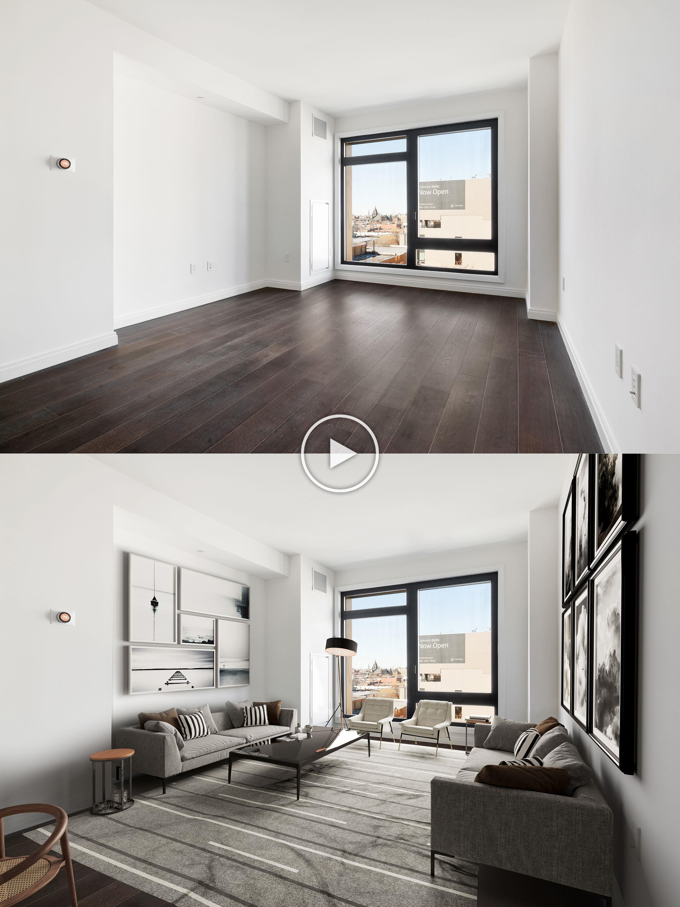 Virtual Design Living Room: Hall (virtual Staging) In 2020