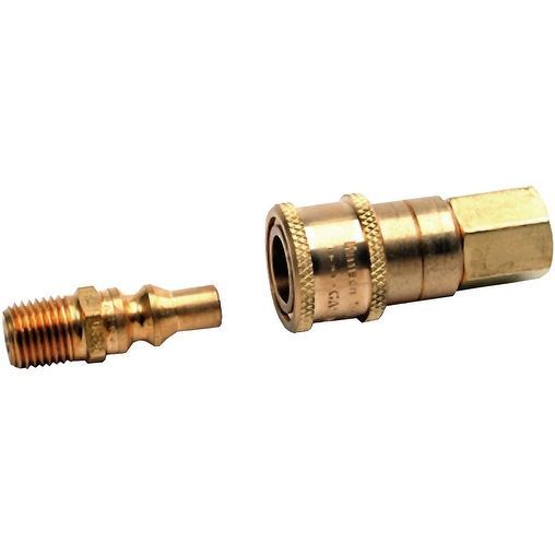 Mr. Heater Propane or Gas Connector Set, 1/4-Inch Male and Female #F2...