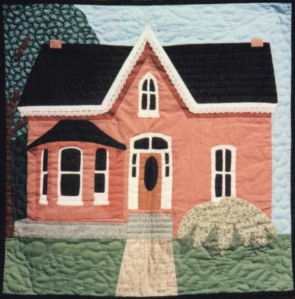 need to make semi-realistic quilt of my house before we move ... : pictorial quilt blocks - Adamdwight.com