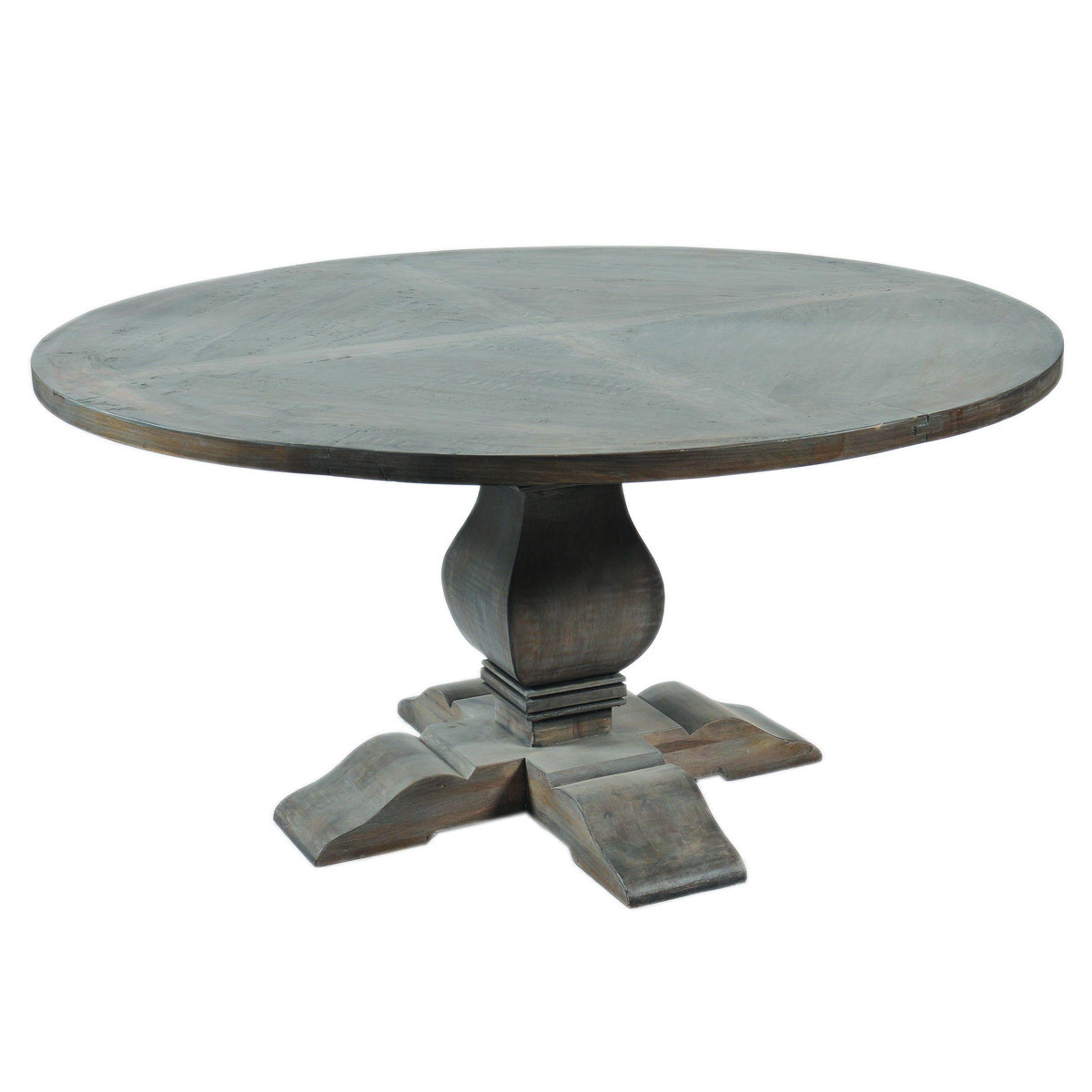 Ephesus Pedestal Round Dining Table