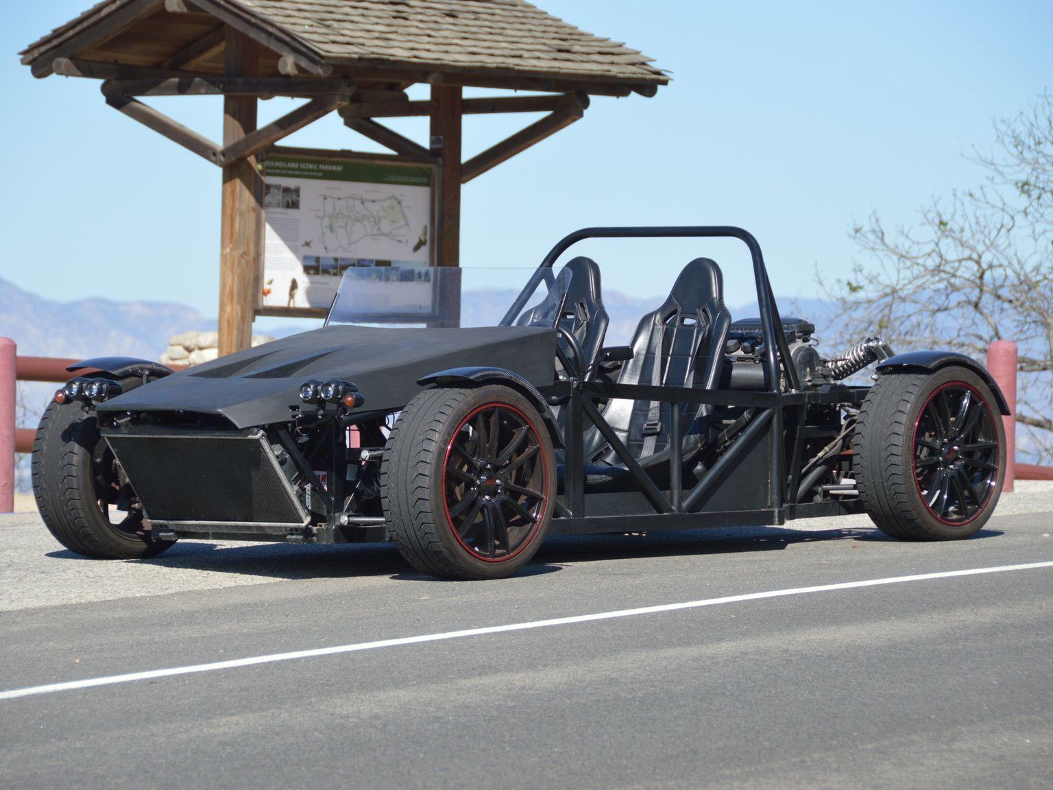 A California based startup making fully street-legal kit cars ...