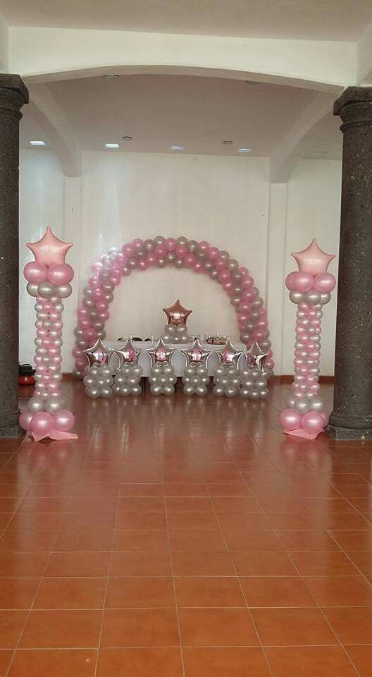 Bautizo annielee   baby shower in pinterest balloon decorations balloons and also rh