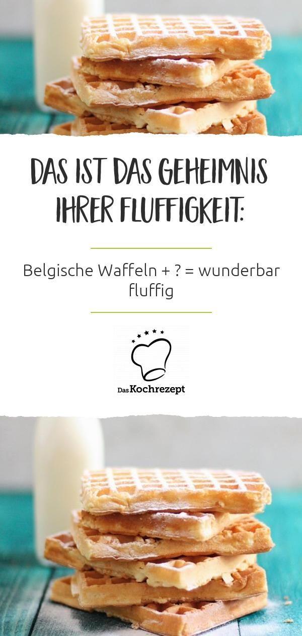 Photo of Belgische Waffeln mit Buttermilch