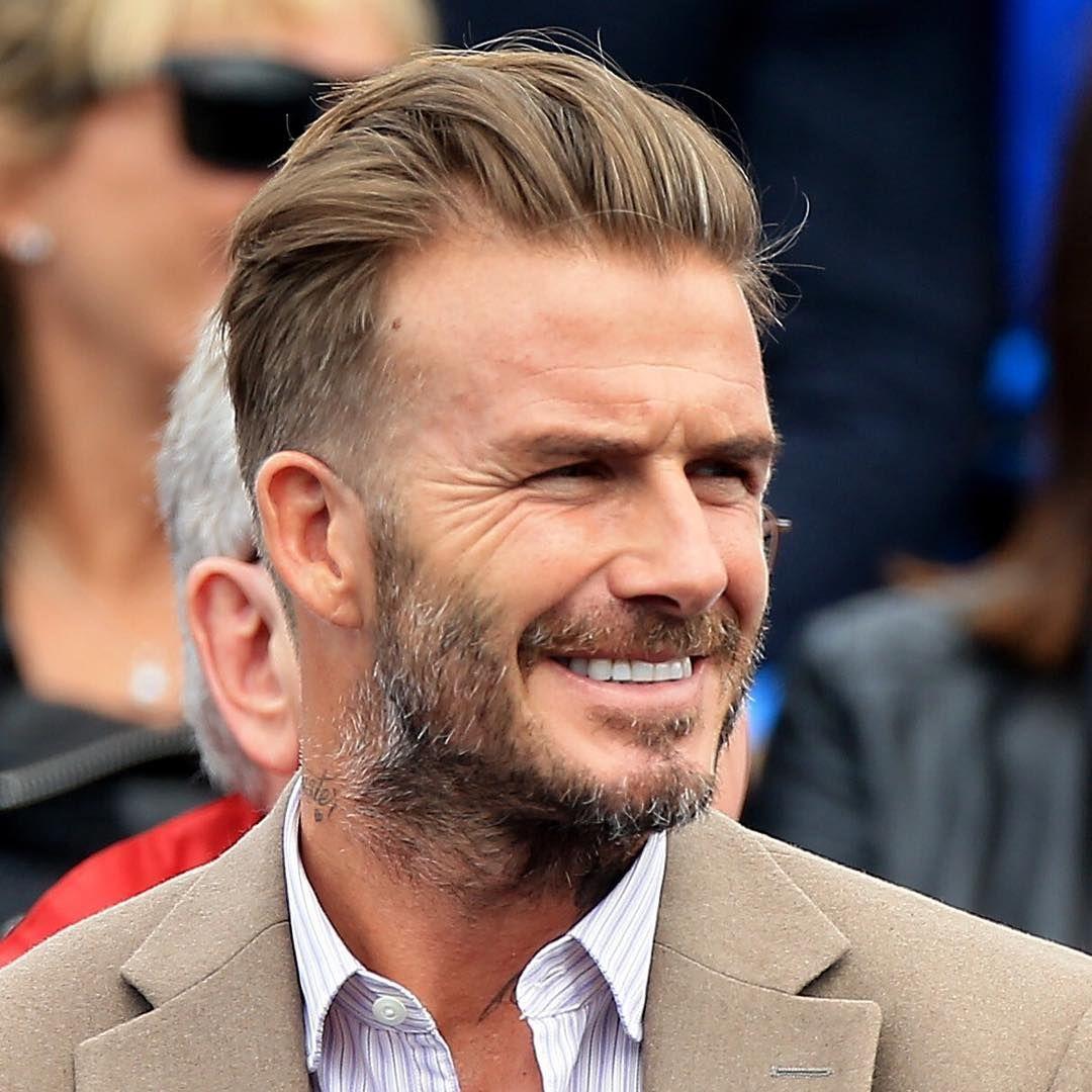 Top 32 Modern Mens Hairstyles 2017 David Beckham Pinterest