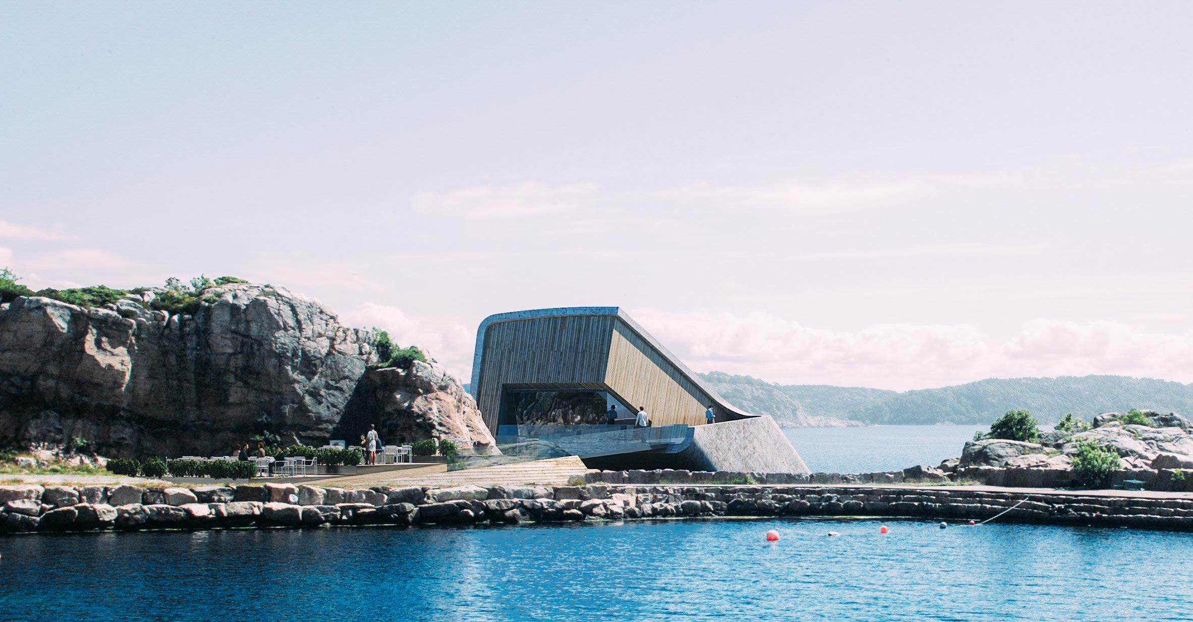Dine Under The Sea In Norway S First Underwater Restaurant Underwater Restaurant Norway Underwater