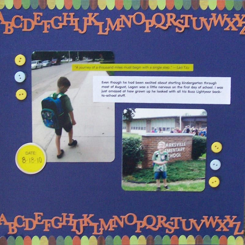 Toys Scrapbook Layouts | Simple Scrapbook Page Layouts | AA SCHOOL ...