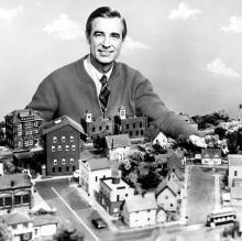 Mr Rogers Is A Vegetarian Famous Vegan Celebrities Mister Rogers Neighborhood Fred Rogers Mr Rogers