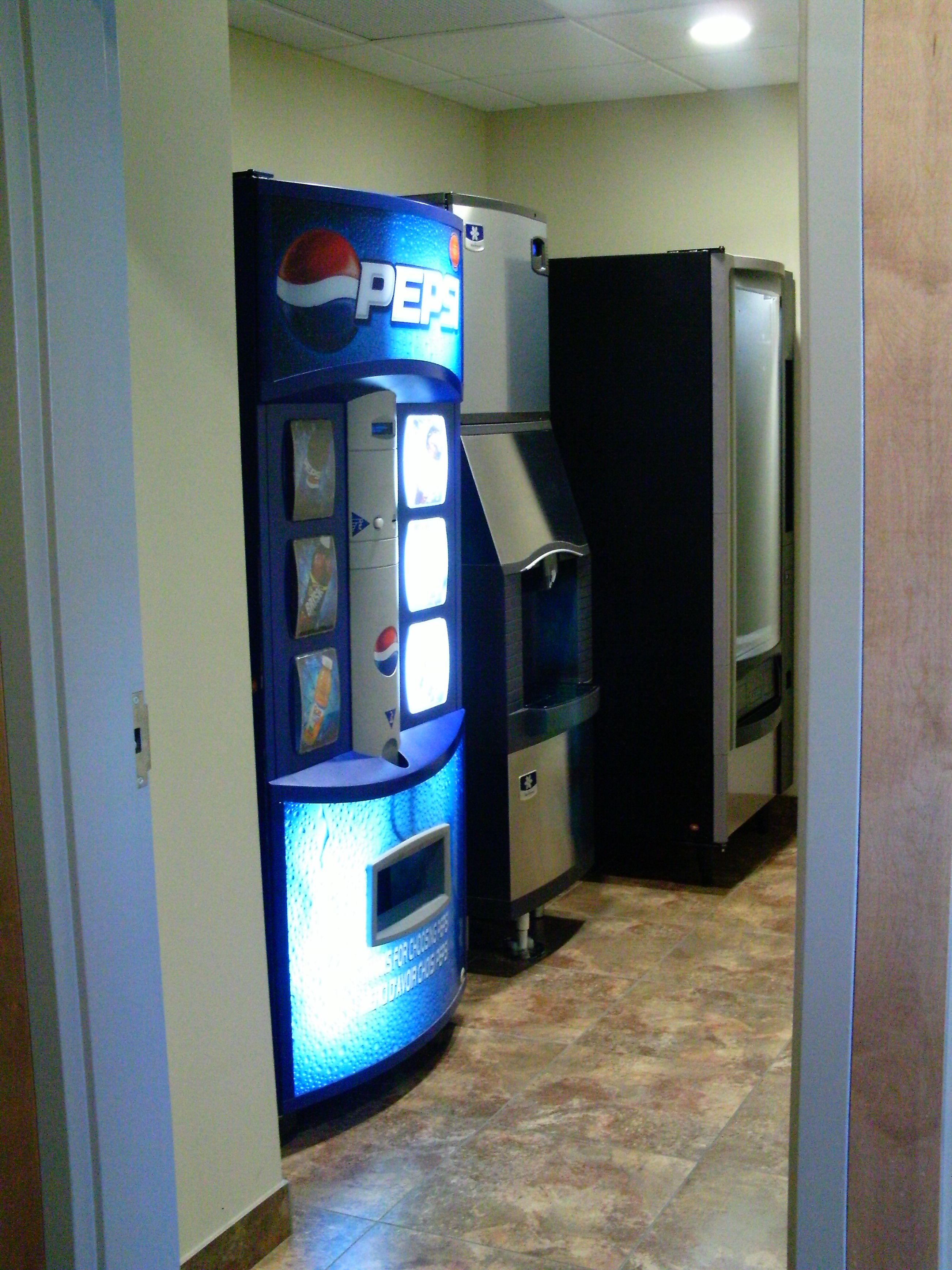 Hotel Ice Machine Vending