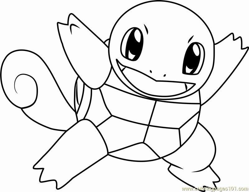 Squirtle Pokemon Coloring Page Elegant Squirtle Pokemon Coloring Page Free Pokemon Coloring Pokemon Coloring Pikachu Coloring Page Pokemon Coloring Pages