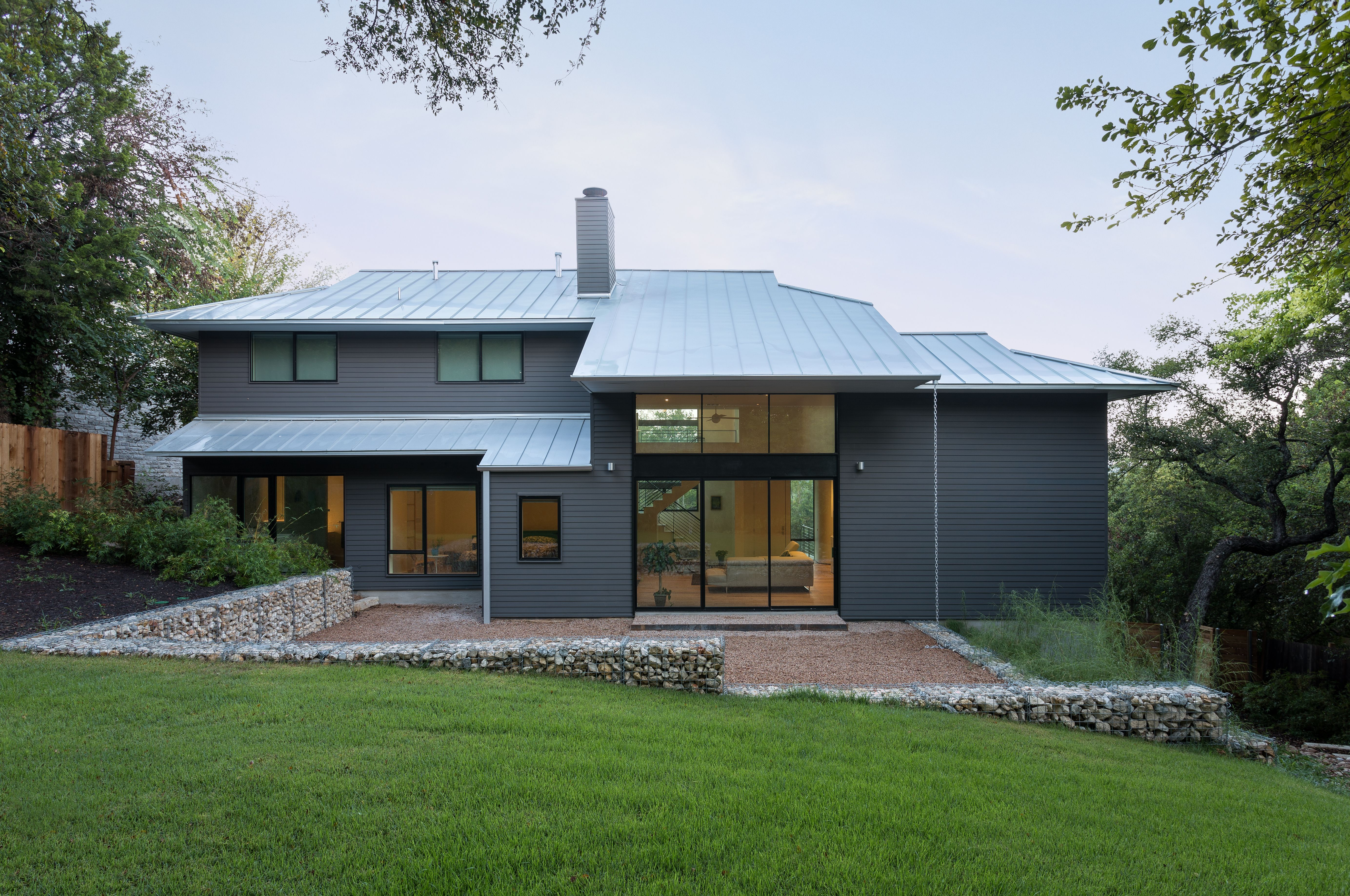 Contemporary Home Remodel Before And After Photos