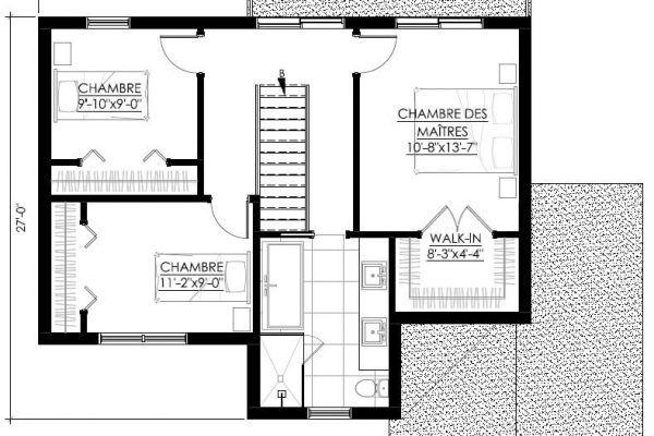 Plan de Maison Moderne Ë_129 Leguë Architecture Maison Pinterest