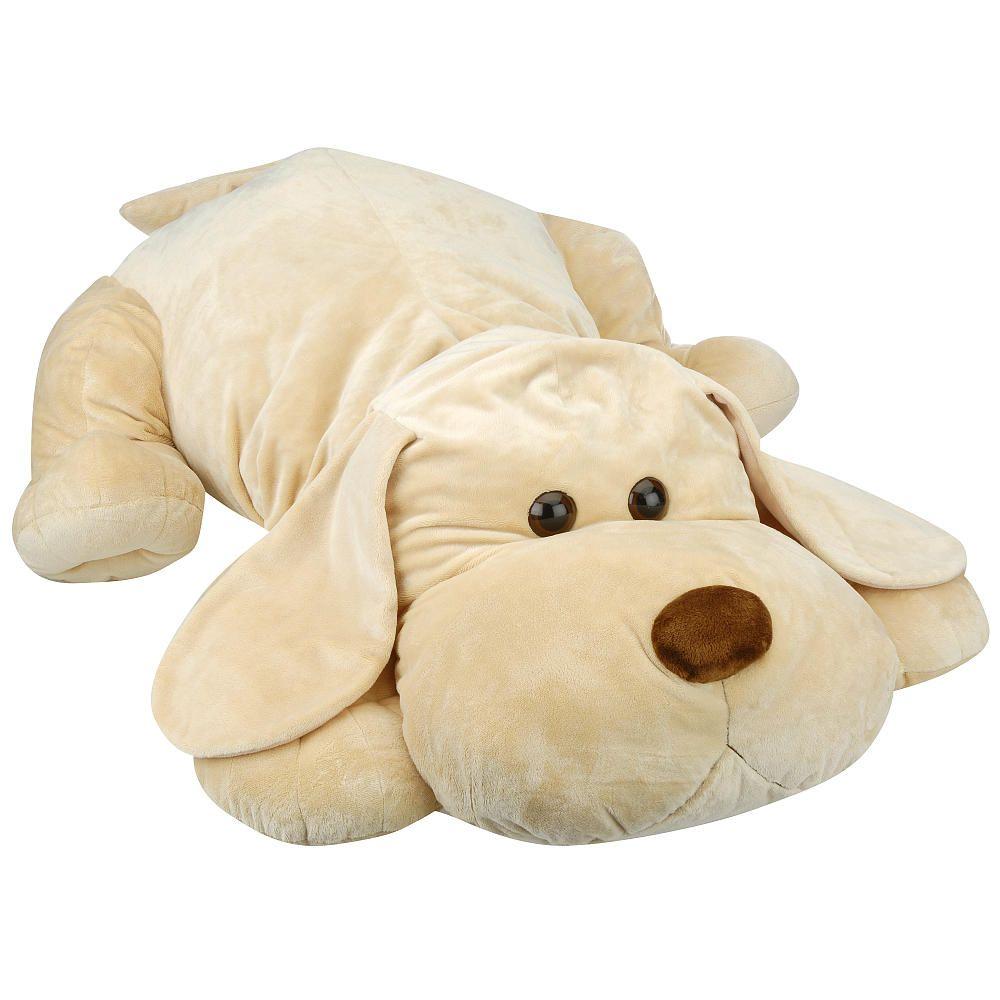 Toys R Us Plush 43 Inch Tan Sammie Pup Giant Stuffed