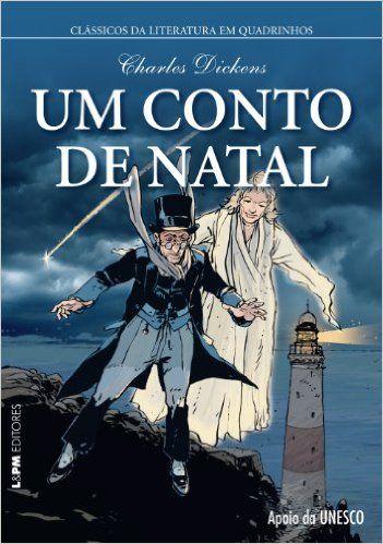 Um Conto De Natal Quadrinhos Livros Na Amazon Com Br Com