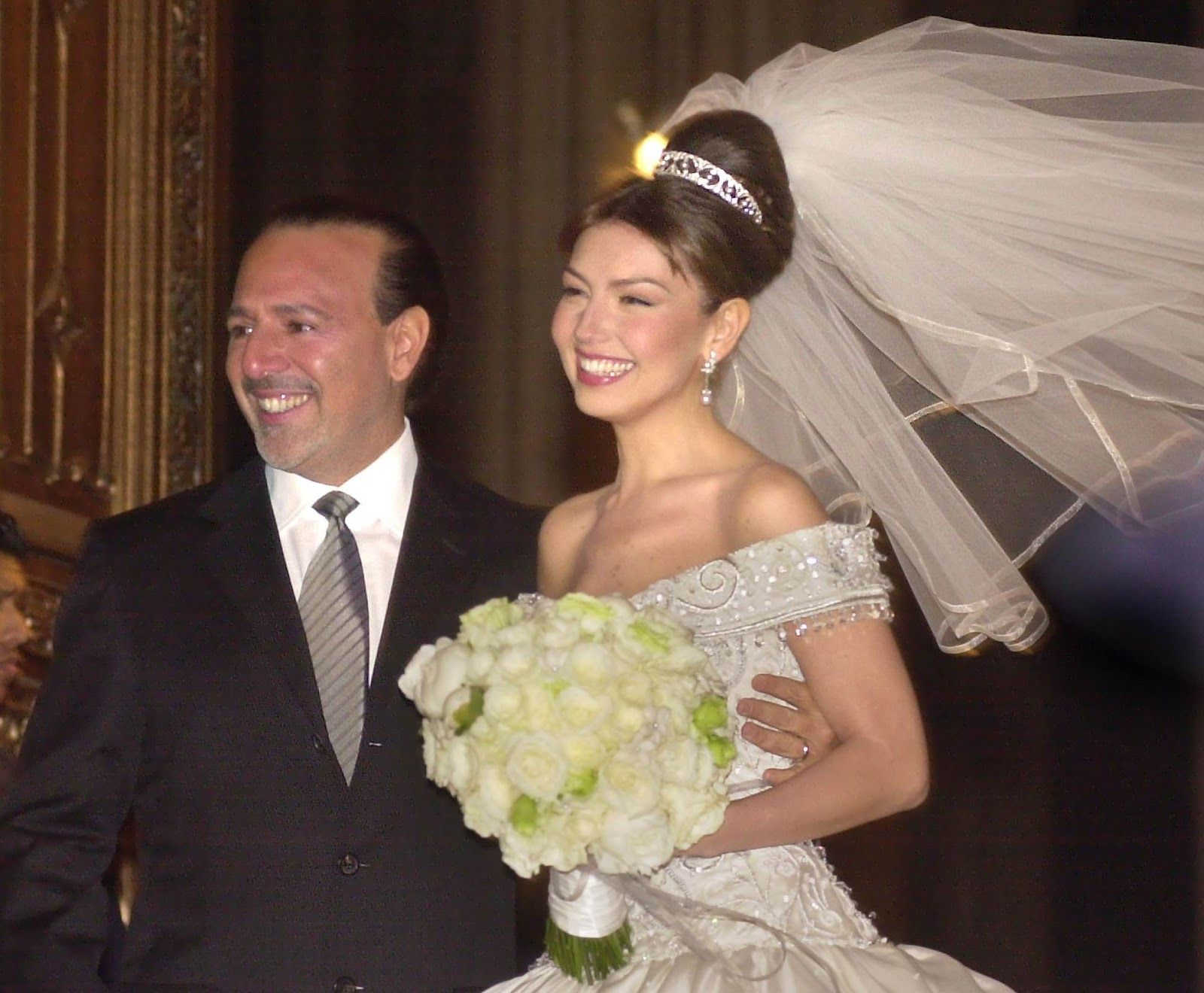 Thalia Wedding And Tommy S Fayritale