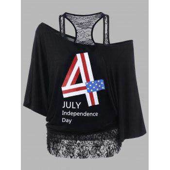 GET $50 NOW | Join Dresslily: Get YOUR $50 NOW!https://m.dresslily.com/lace-panel-plus-size-funny-4th-of-july-t-shirts-product2049525.html?seid=8KUMAU32jbCCddfE0U2nI5EhIC