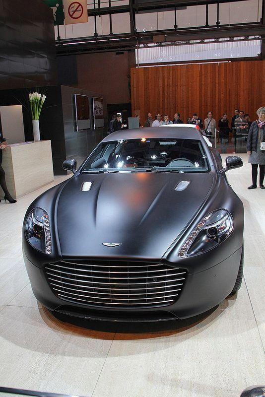 Aston Martin Rapide Black Matte