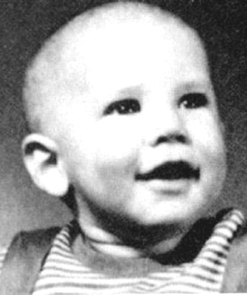 Harrison Ford ***NO CANADA RIGHTS***.Yearbook photos and baby pictures of celebrities before they