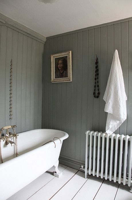Rustic Chic Bathroom these rustic bathrooms make a case for country living | gray