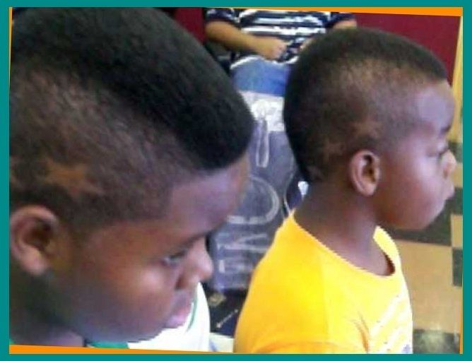 Kids Haircut Youtube Mohawk Haircut For Boys With Star Designs