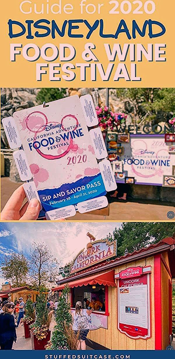 2020 Guide for the Food and Wine Festival at Disneyland