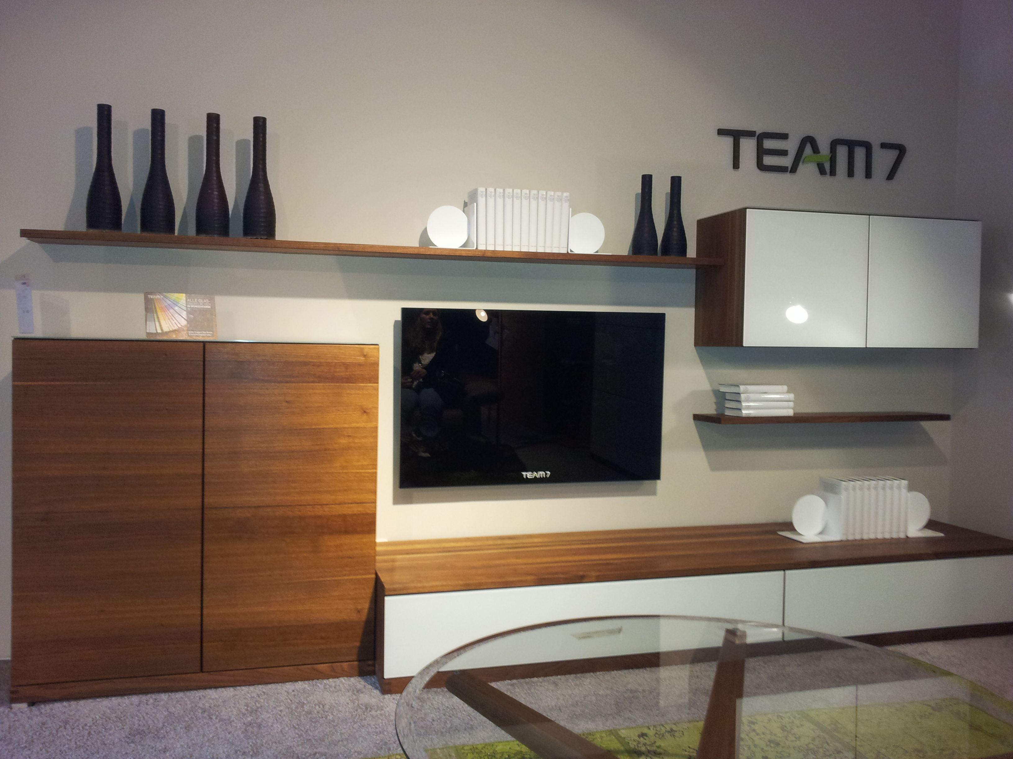 Großer Wohnzimmerschrank ~ Wohnwand team 7 schöne möbel pinterest interiors