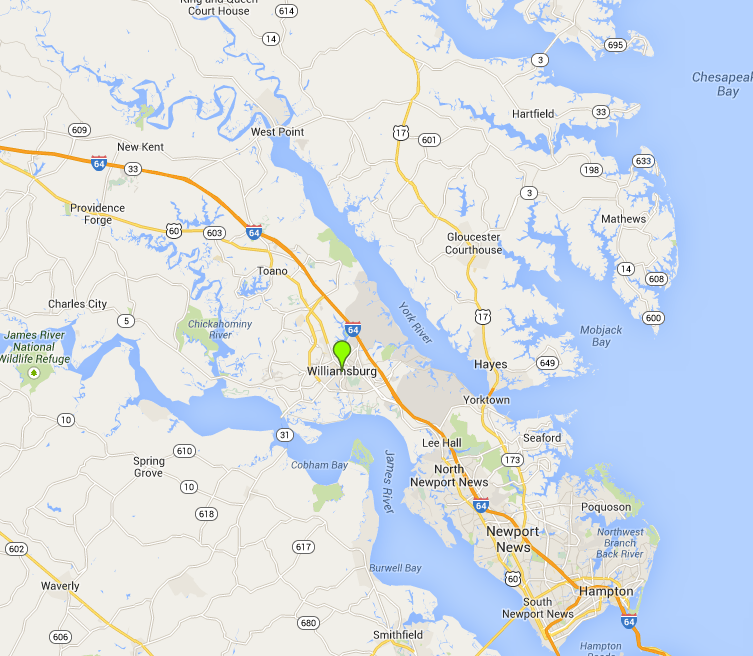 Williamsburg va map on the virginia peninsula httpcaseytoyota williamsburg va map on the virginia peninsula httpcaseytoyota gumiabroncs Gallery