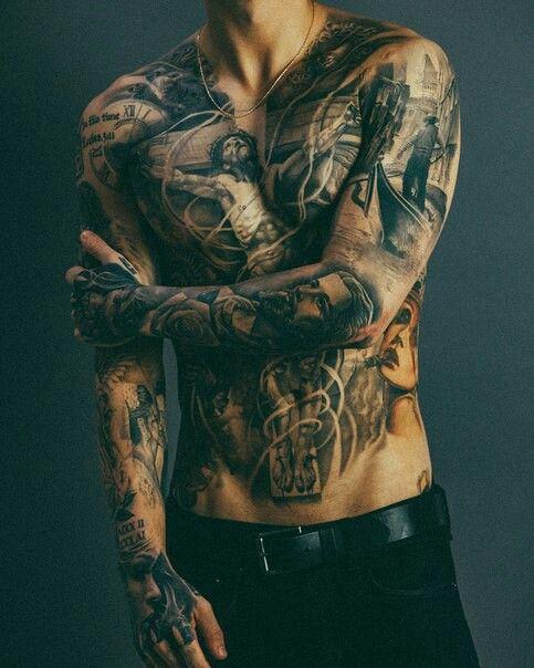 Mit tattoo männer Sleeve Tattoo: