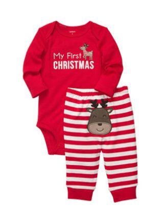 My First #Christmas onesie