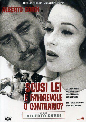Perdón, ¿Está Ud. a Favor o en Contra? (1966) - Alberto Sordi   Guión: Dario Argento