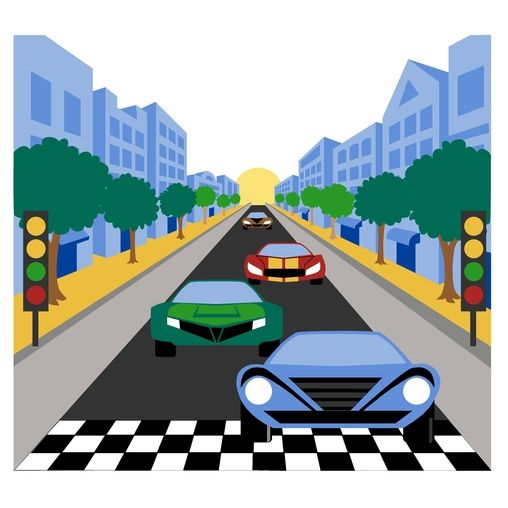 Racing Car Paint By Number Wall Mural Wall Murals Walls And