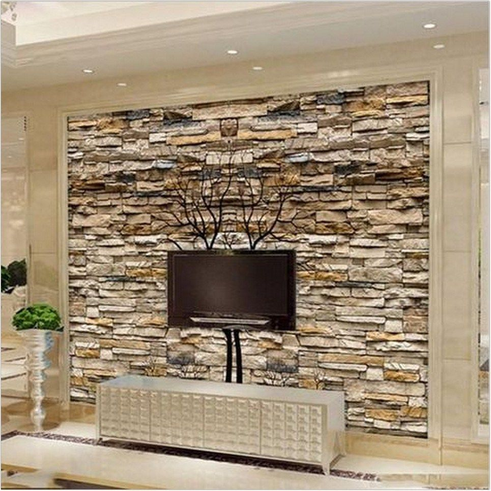 809b5060 Fall Decor Ideas Wall Tapestries How Great Do They Look Pin 2 View Later Decorating Ideas For Stone Walls Interior Tv Wall Decor Stone Wallpaper