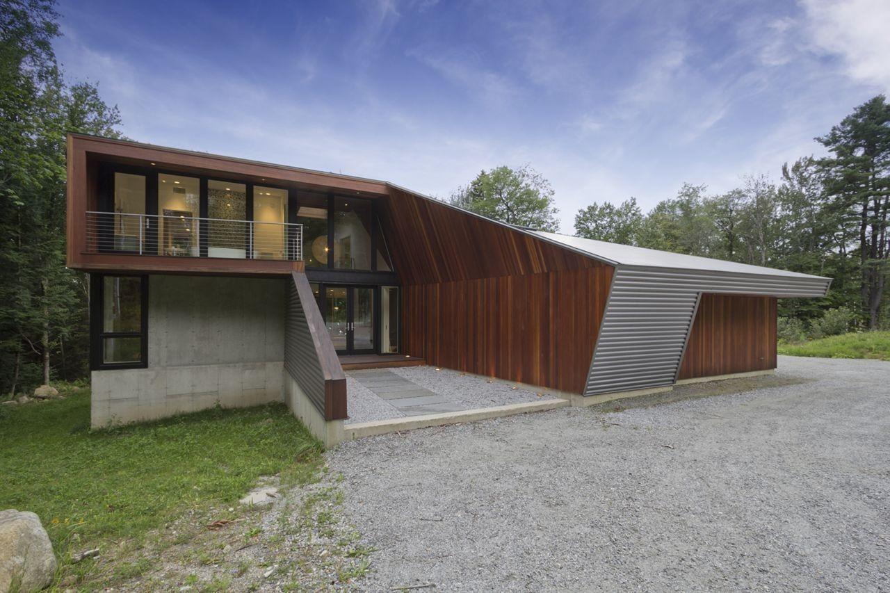 Casa no Lago Berkshire / David Jay Weiner