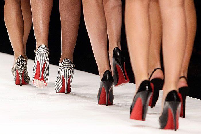 8a37a4a8c8e0 Christian Louboutin Heels on the Catwalk