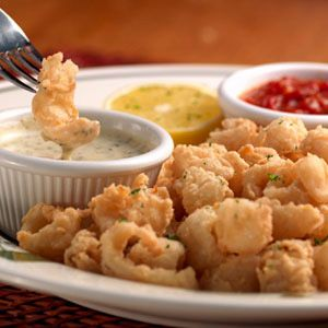 Calamari from Olive Garden. Yum! I get this every time I go