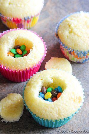Pinata Cupcakes #cupcakesrezepte