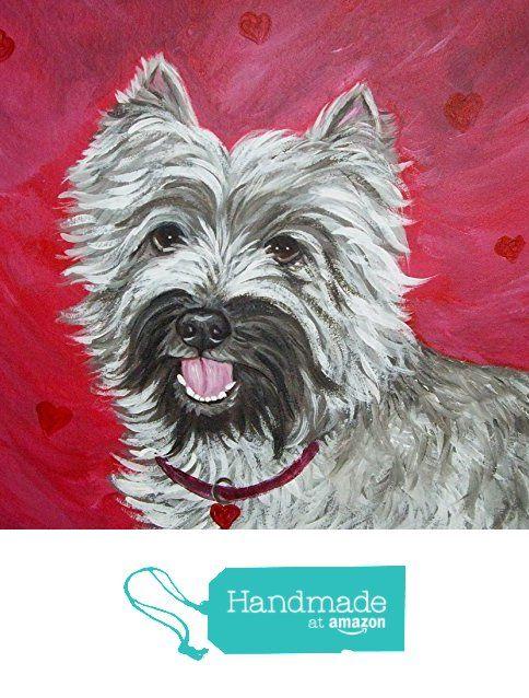 "Custom Canvas Painting Dog Cat Any Pet Any Animal Portrait 6' x 6"" from Danielle's Originals http://smile.amazon.com/dp/B016R75I5Q/ref=hnd_sw_r_pi_dp_Dnpvwb1FQM5M2 #handmadeatamazon"