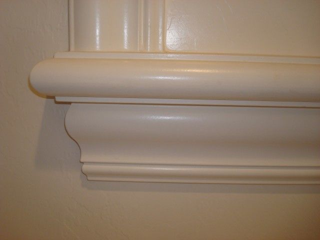 Paint Grade Window Sill With 4 Inch Crown And Bullnose Nosing Wall Colors Window Sill Renovations