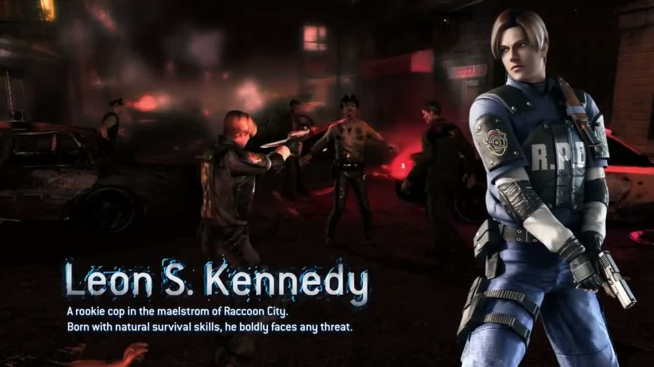 Operation Raccoon City Heroes Wanted Operation Raccoon City Resident Evil Leon Kennedy
