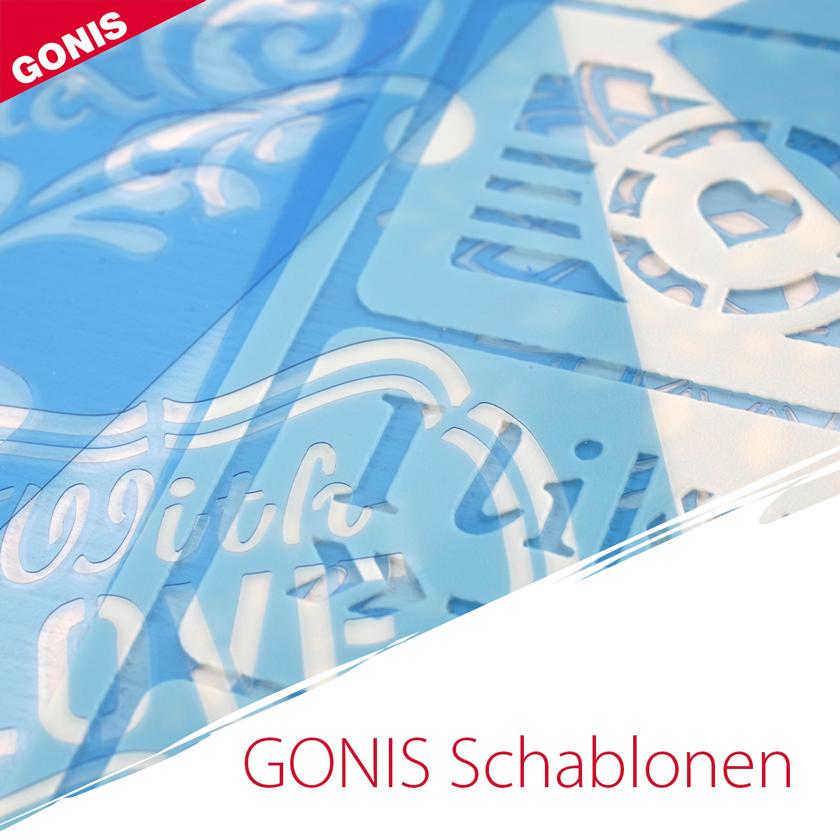 Schablonen mit exklusiven Designs von GONIS | GONIS Produkte ...