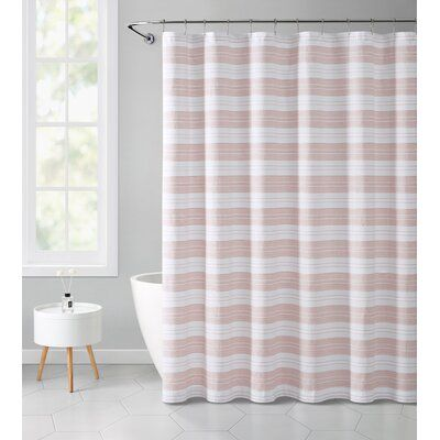 Highland Dunes Plank Polyester Single Shower Curtain In 2020